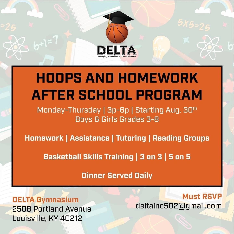 Delta Hoops and Homework